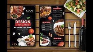 Thiết kế menu, thực đơn