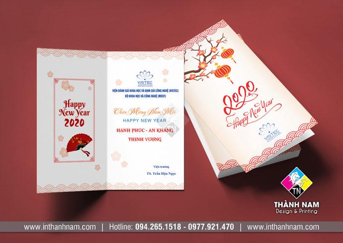 Thiết kế thiệp chúc tết, thiệp chúc mừng năm mới