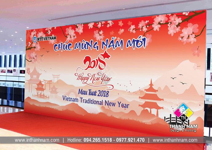 In backdrop giá rẻ lấy ngay tại Hà Nội
