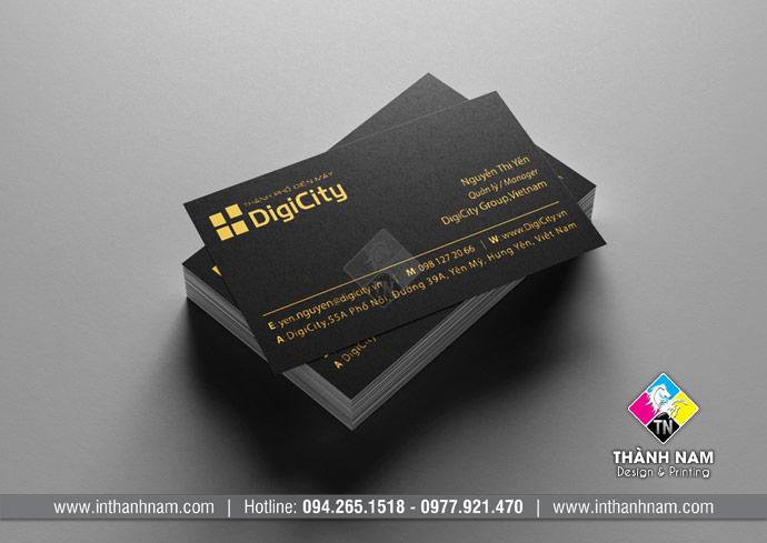 In card visit lấy ngay sau 30 phút tại Hà Nội