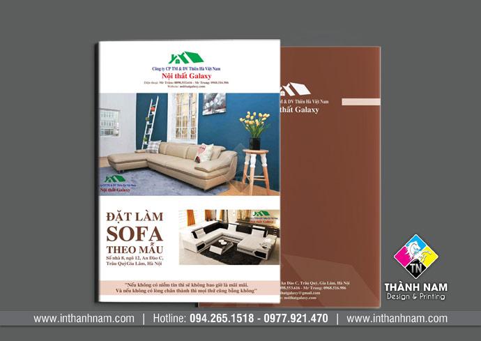 In catalogue nhanh, in lấy ngay giá rẻ tại Hà Nội