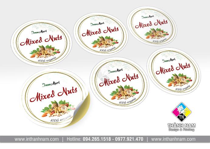 In sticker logo giá rẻ tại Hà Nội
