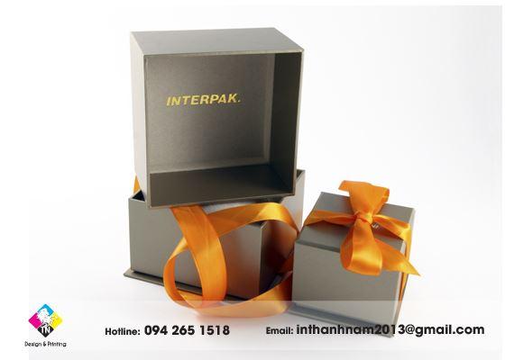 In hộp giấy đựng quà tặng đẹp tại hà nội