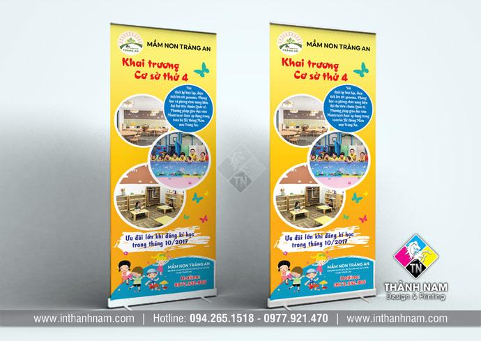 In standee lấy ngay giá rẻ tại Hà Nội