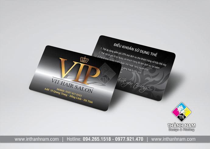 In thẻ nhựa nhân viên, thẻ VIP, thẻ khách hàng