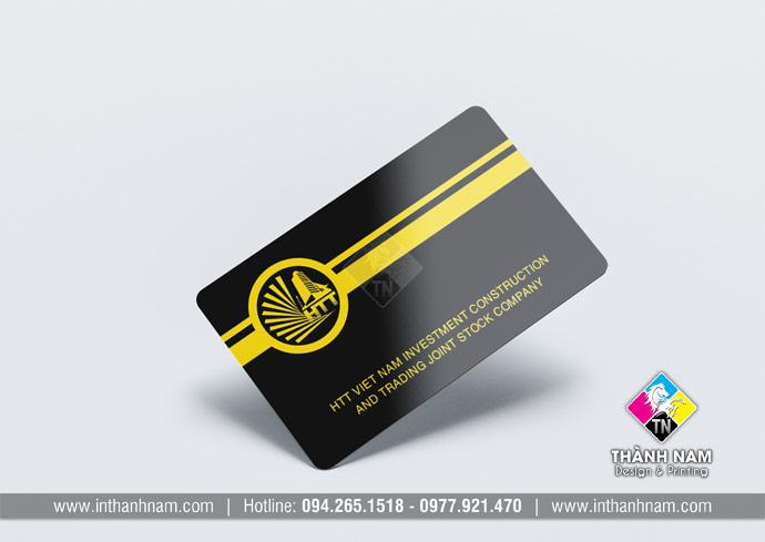 In thẻ nhựa cứng PVC, in card nhựa