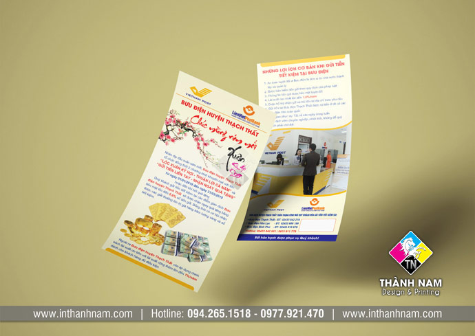 In flyer tại Hà Nội