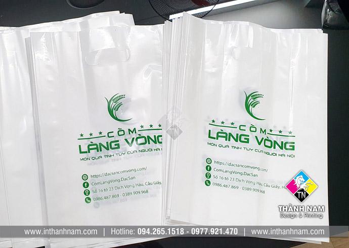 In túi ni lông giá rẻ tại Hà Nội