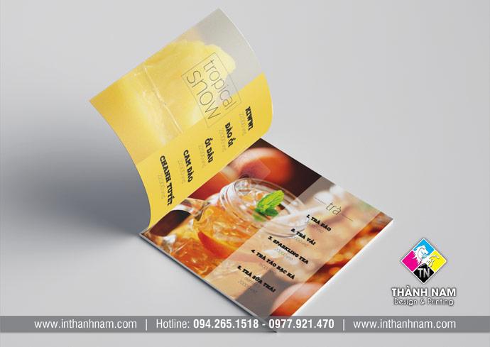 Thiết kế menu, thực đơn chuyên nghiệp