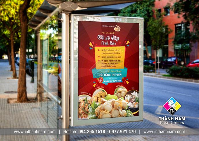 Dịch vụ thiết kế poster quảng cáo sản phẩm