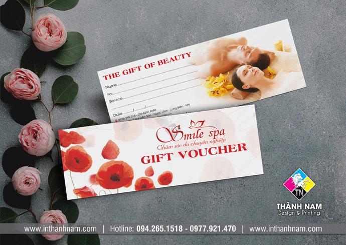 In voucher đẹp, giá rẻ, lấy ngay tại Hà Nội