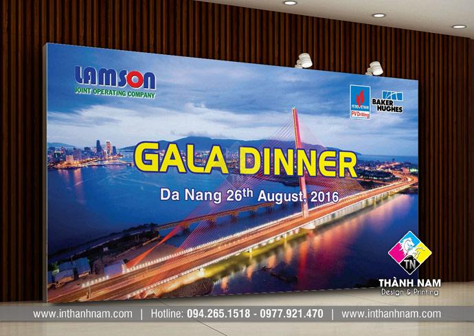 Thiết kế backdrop sự kiện, hội nghị, sinh nhật, Gala diner, Khai trương