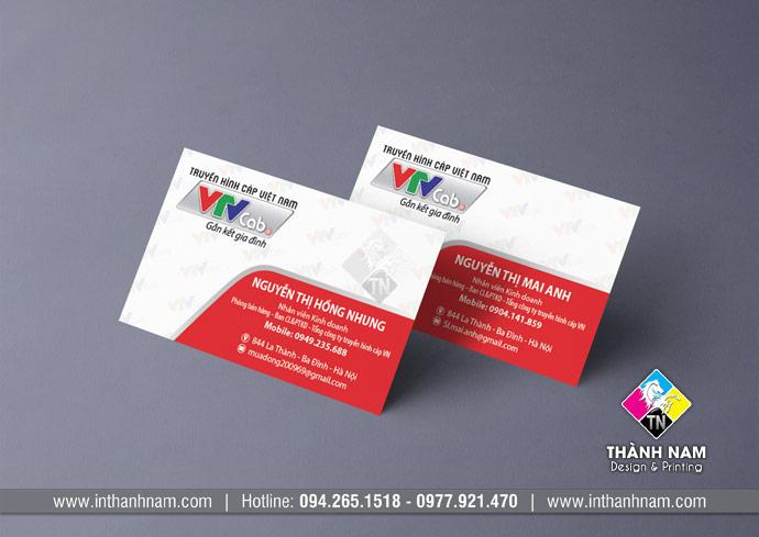 Thiết kế card visit, thiết kế name card